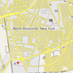 Amityville New York Map.Amityville New York