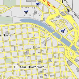 San Isidro California Map.San Ysidro Port Of Entry Border Crossing Garita De San Ysidro