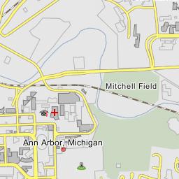 University Of Michigan Central Campus Ann Arbor Michigan
