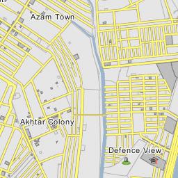 Postal Code Karachi 74200